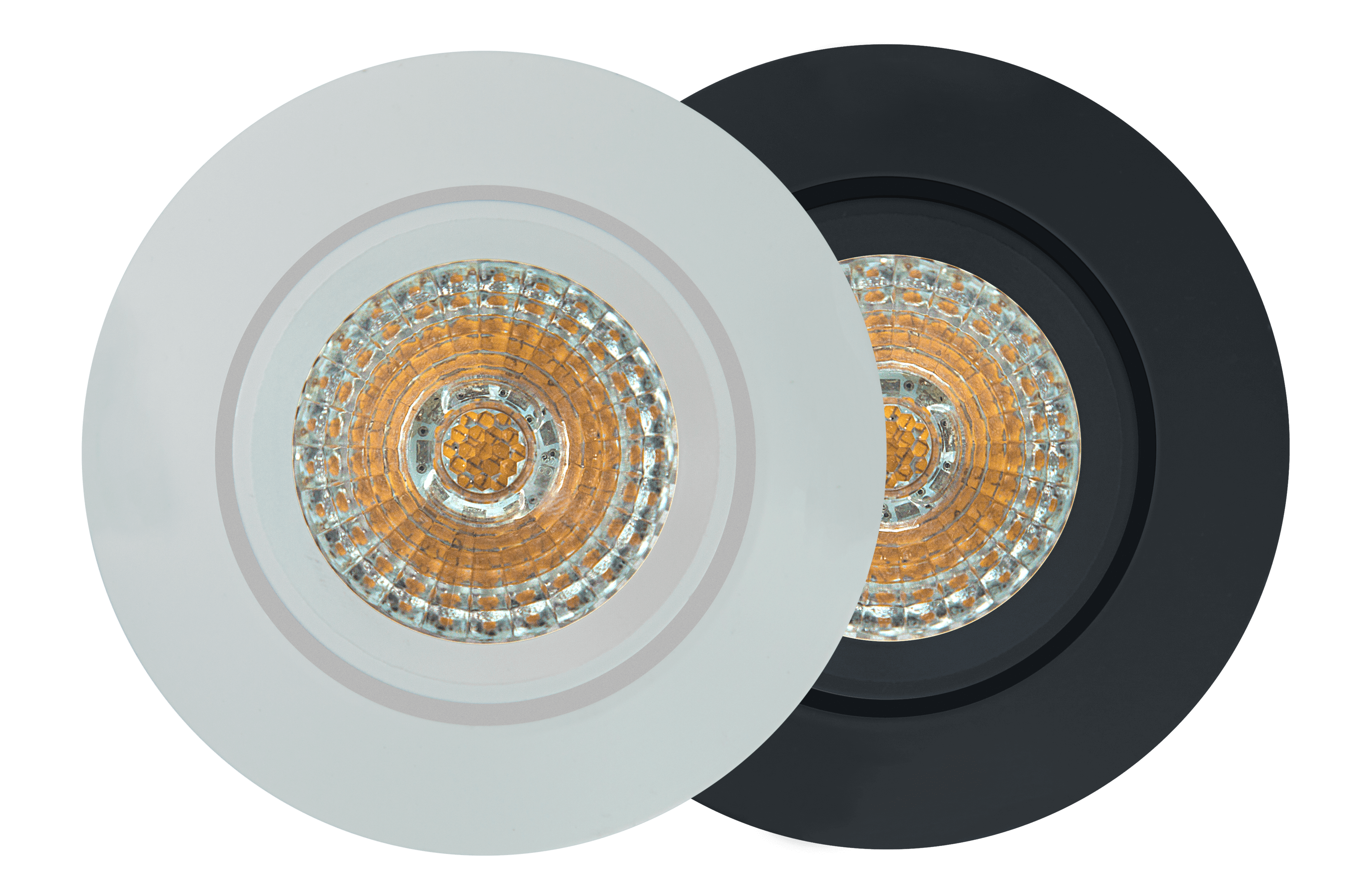 Loxone LED Spot WW 24V - Weiss und Anthrazit