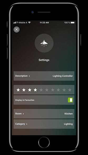 Smart Home App - Expert Mode