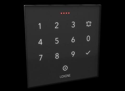 Frei programmierbare LED Statusanzeige des NFC Code Touch