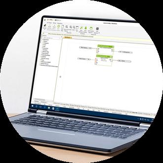 Loxone Config - starke Sicherheitstechnik bereits in der Software