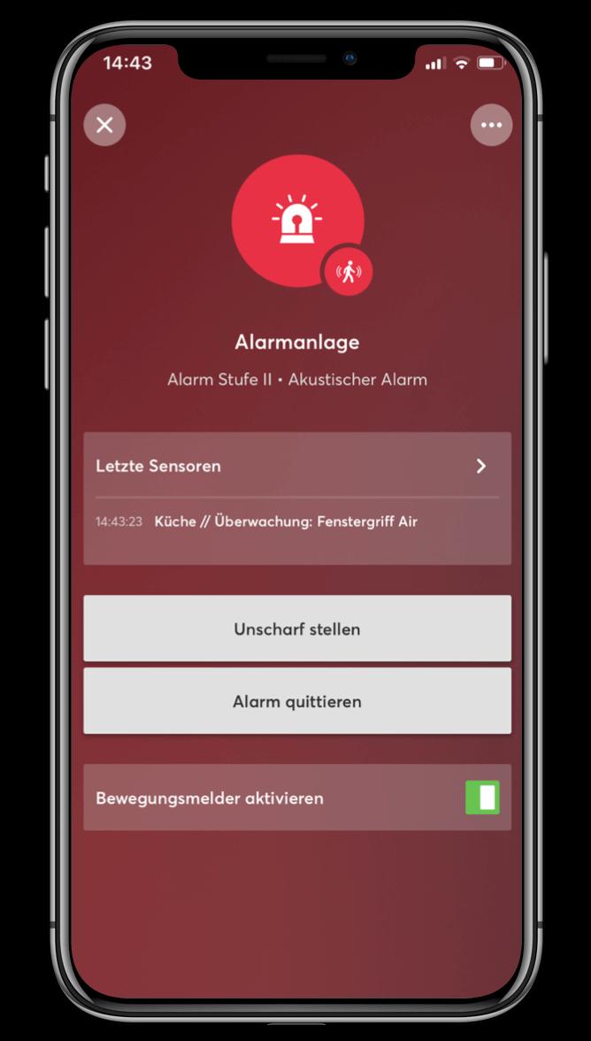 Smart Home App - Sicherheit