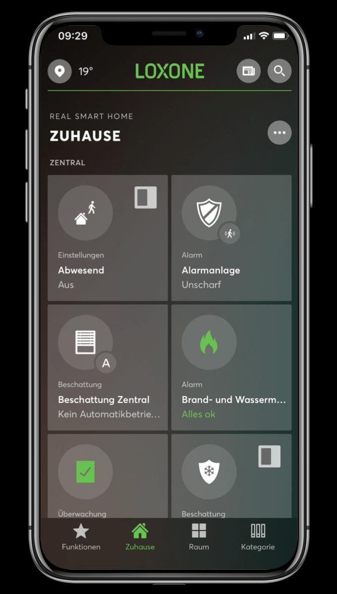 Smart Home App - Personalisierung