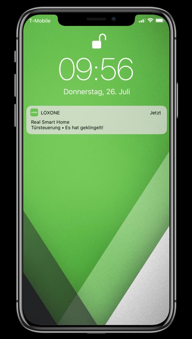 Smart Home App - Push Notifications