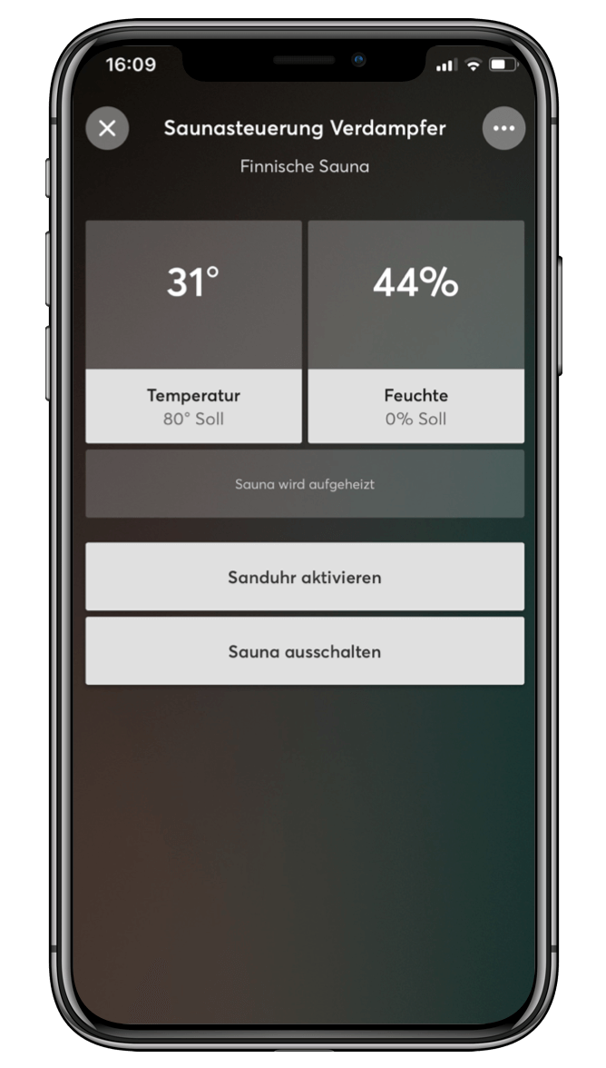 smart home app f r iphone ipad android uvm loxone. Black Bedroom Furniture Sets. Home Design Ideas