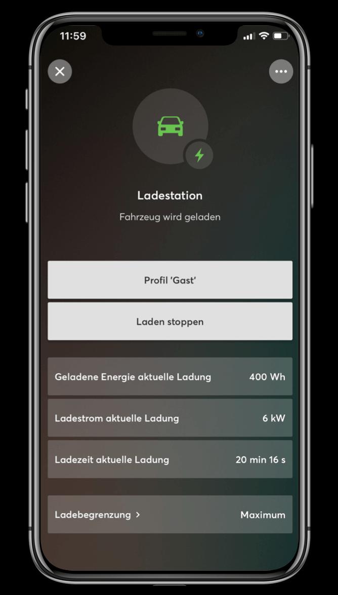 Smart Home App - Wallbox