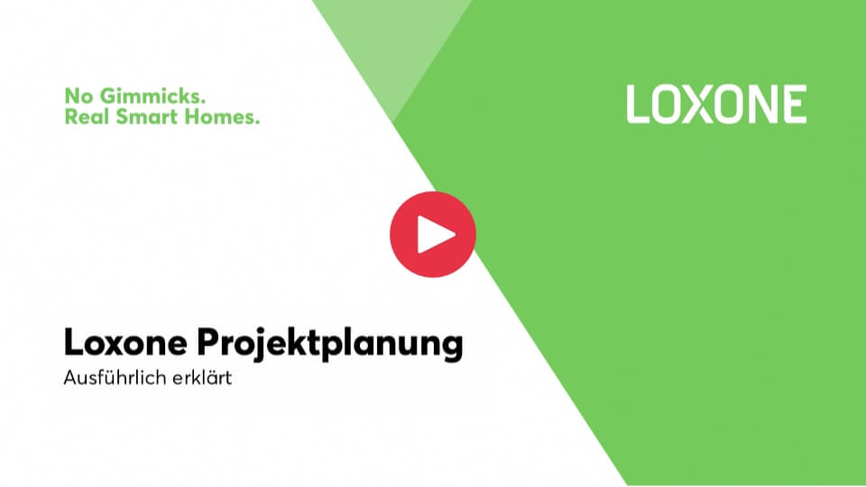 Loxone Projektplanung