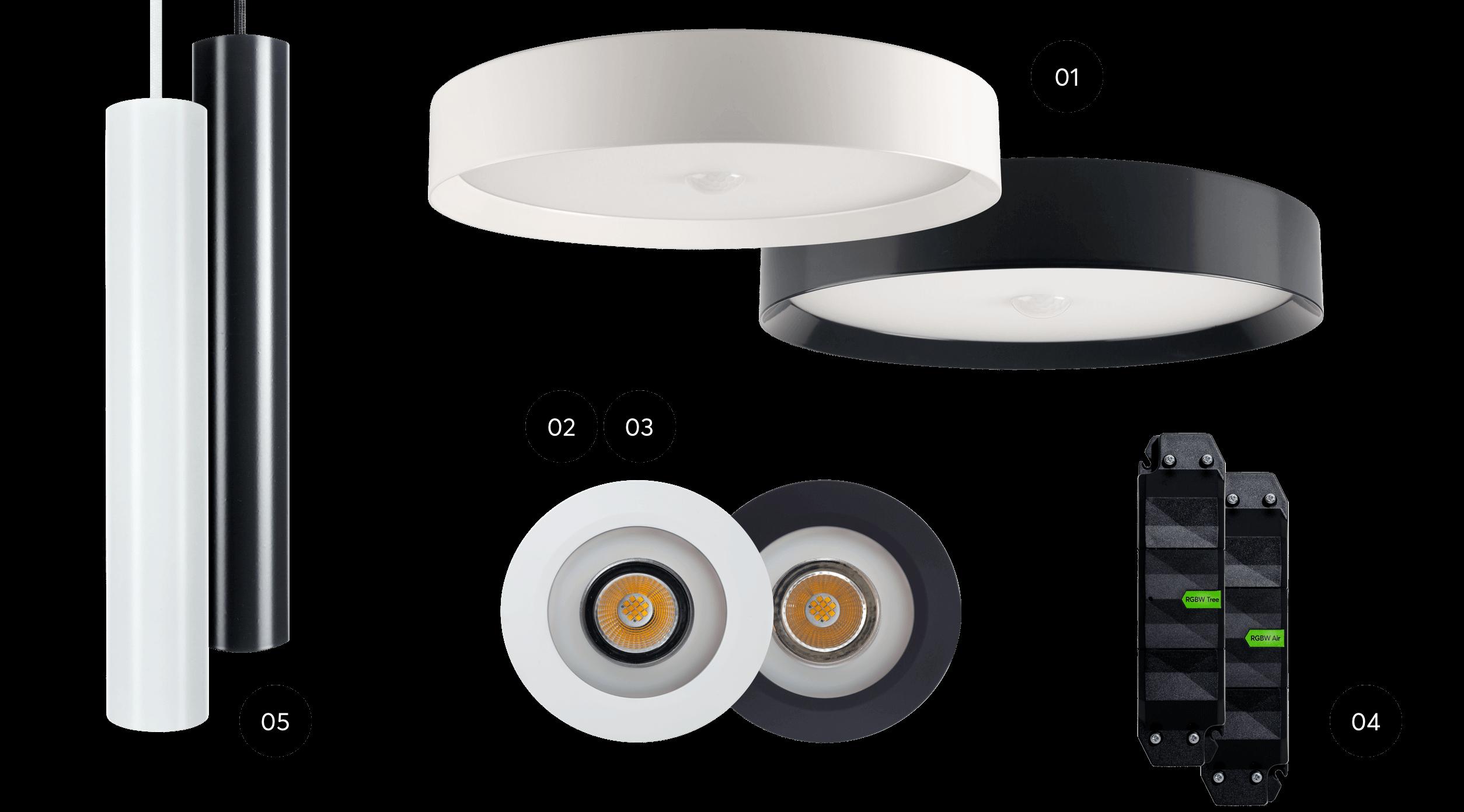 5 neue Loxone Produkte für Ihre LED Beleuchtung