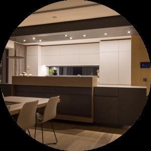 Beispiel LED Beleuchtung in der Küche
