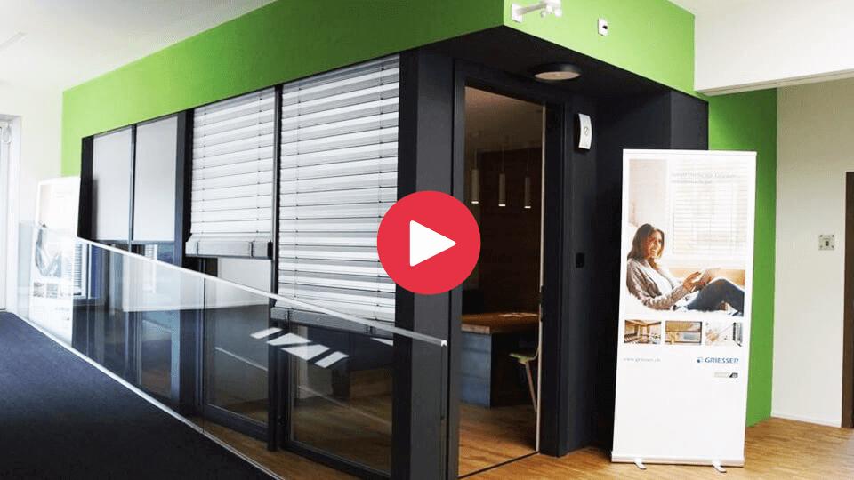 Ein Blick auf den Schweizer Loxone Showroom