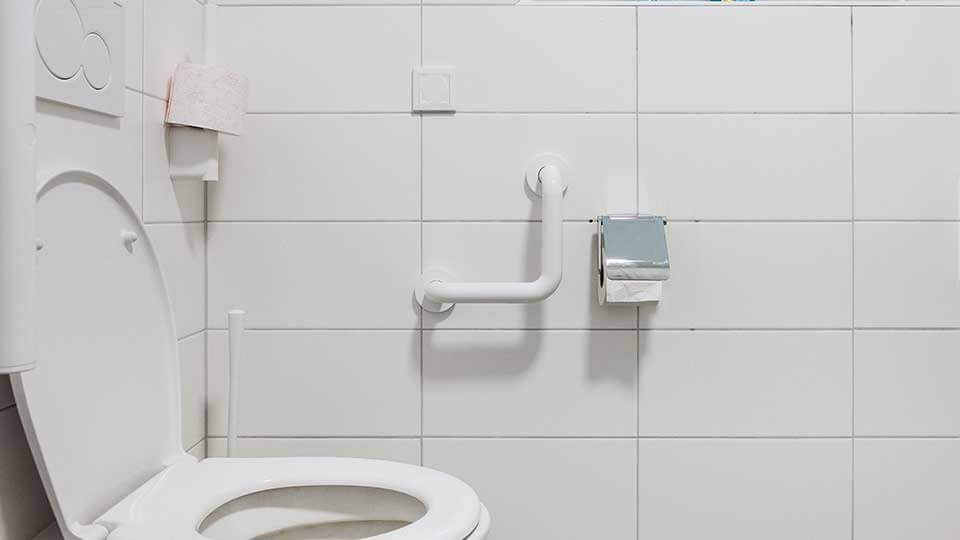 Wohnformen für Menschen mit Behinderung behindertengerechte Toilette