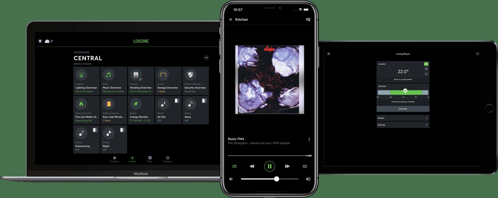 Smart Home App für Android, iOS uvm