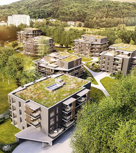 Wohnbauprojekt Levels