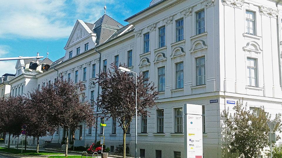 Der Palais Sterneck von aussen