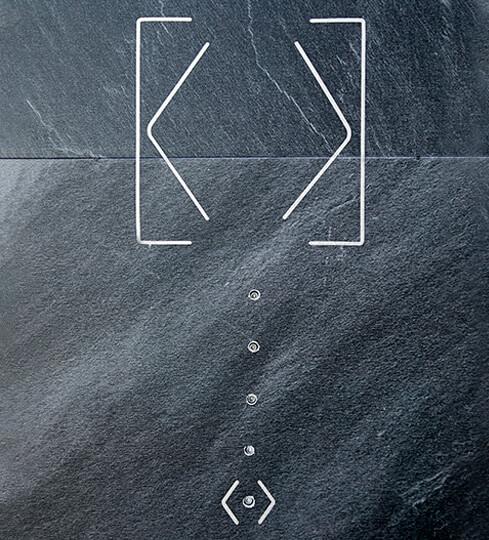 Touch Surface auf Granitplatte