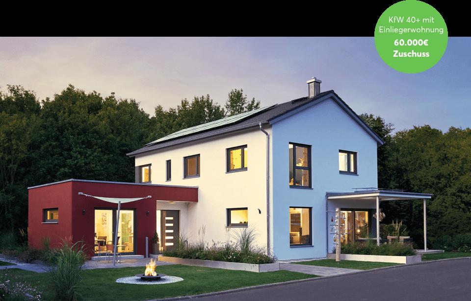 KfW Smart Home Förderung für KfW 40 Plus Haus mit Einliegerwohnung