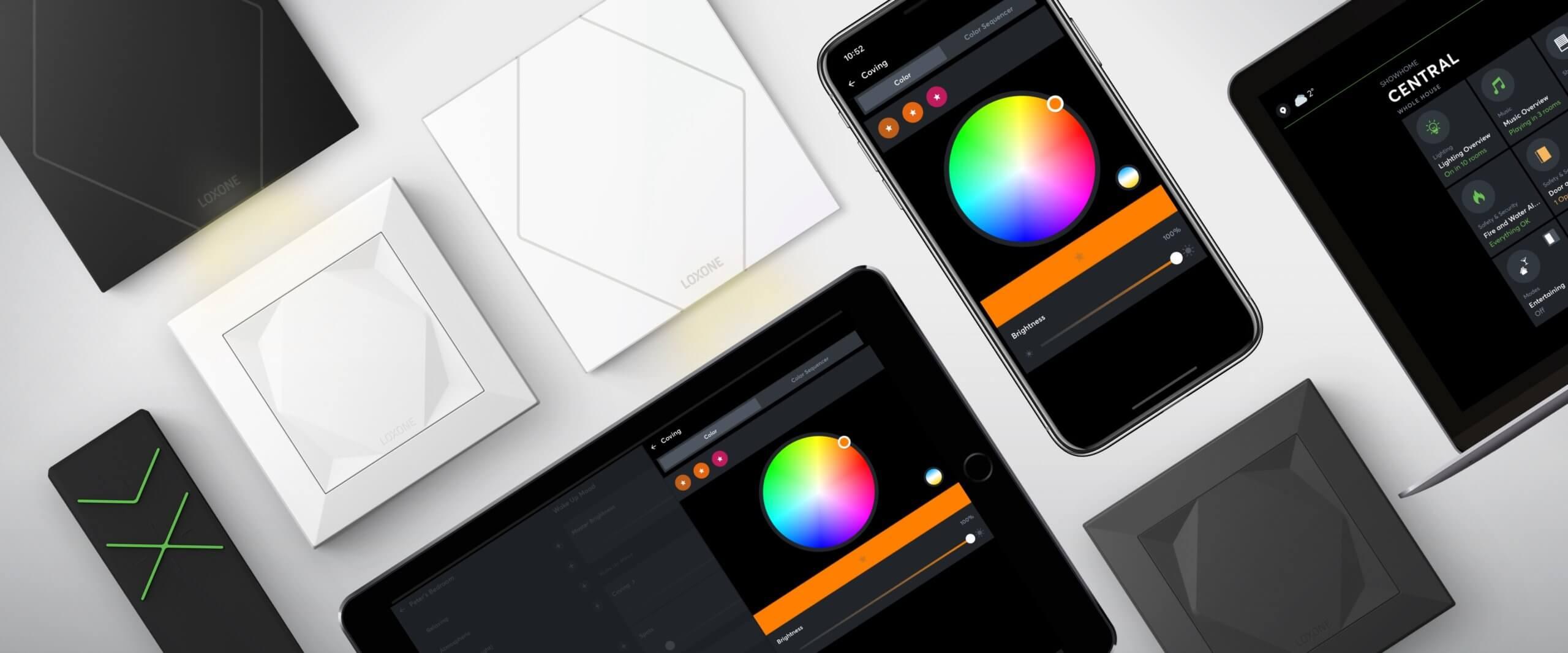 Lichtsteuerung mit Loxone App