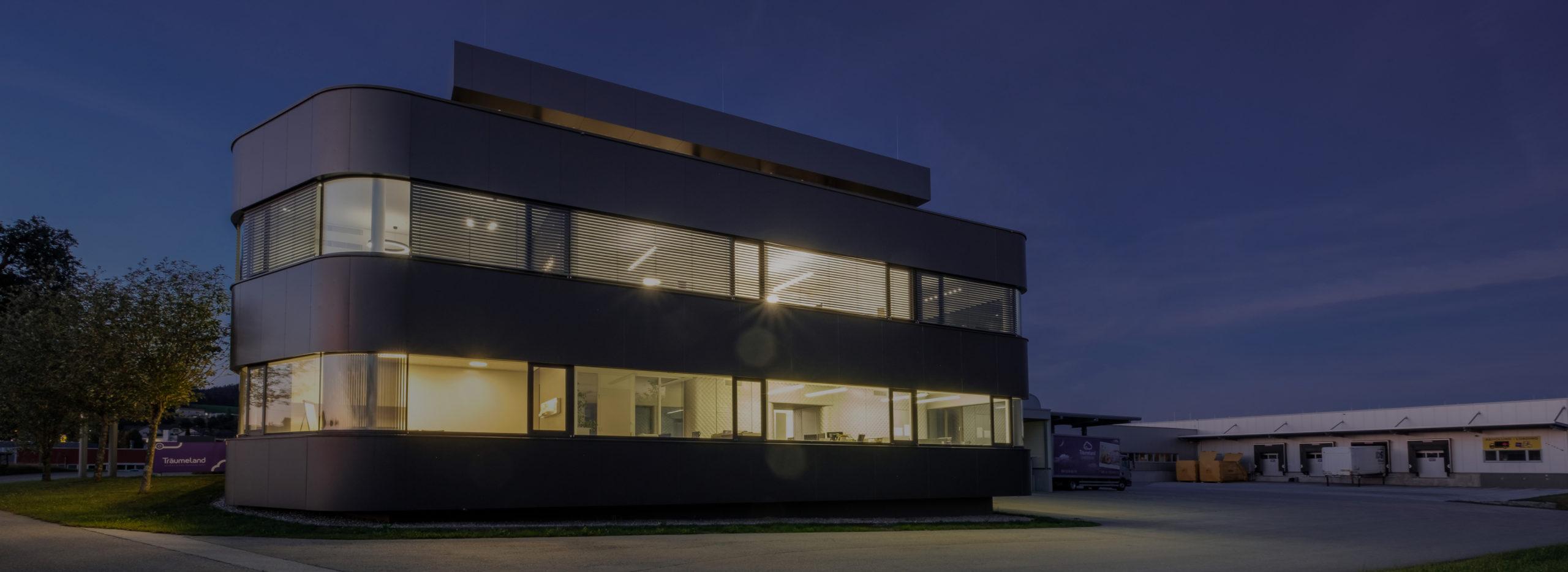 Gebäudeautomation im Bürogebäude