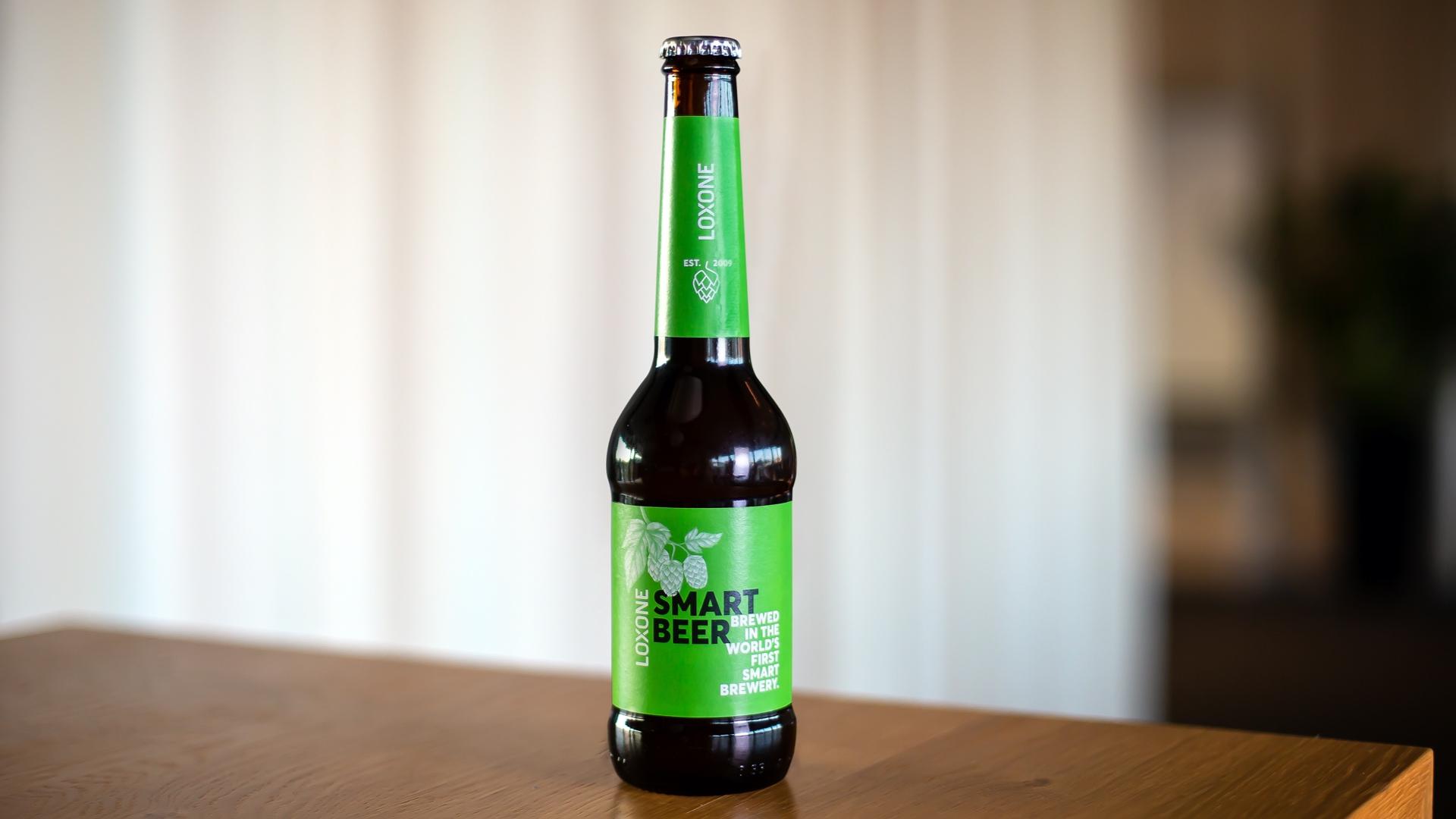 Einstandsdrink Loxone Smart Beer