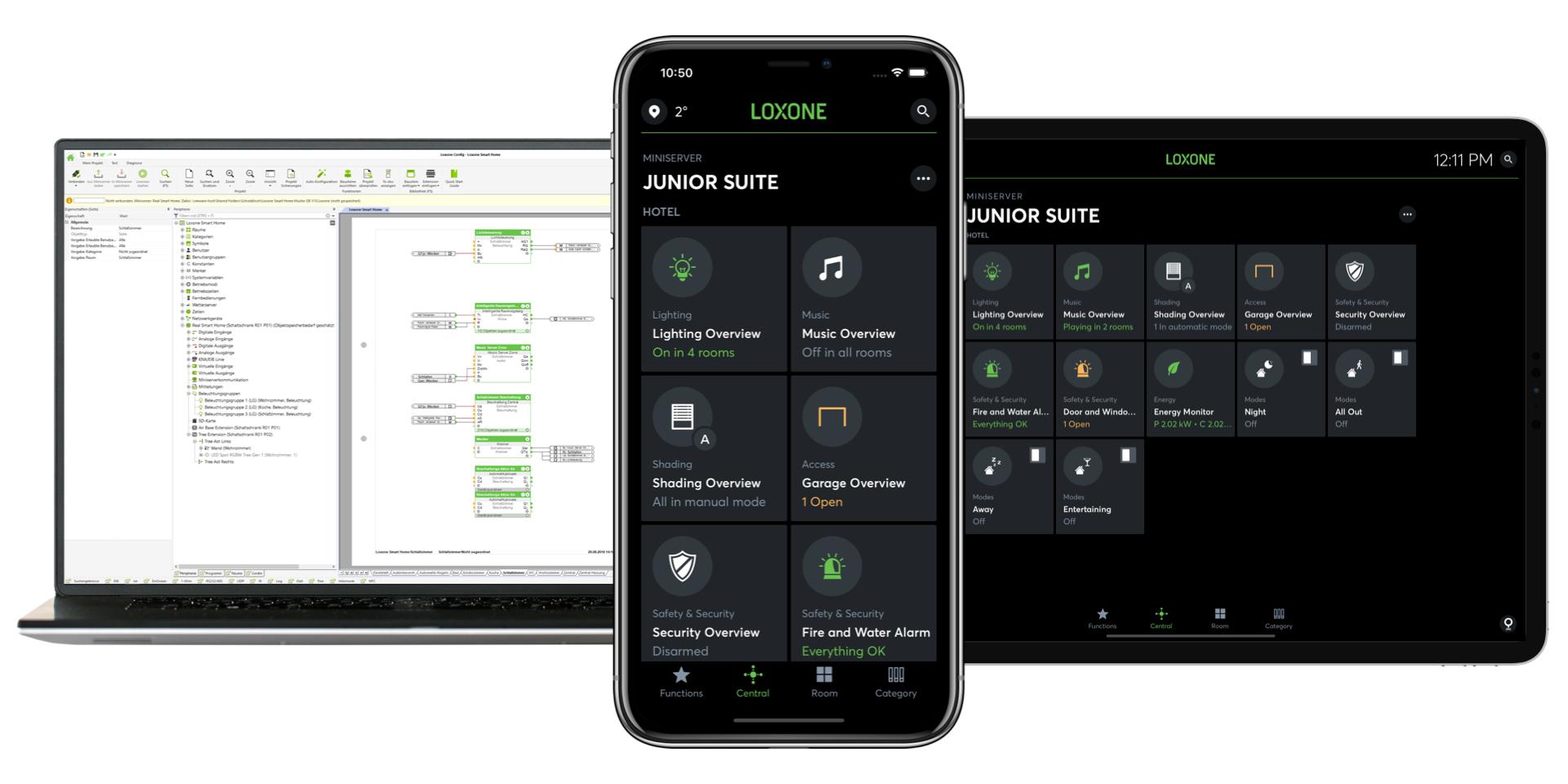 Gebäudeautomation - Software - App