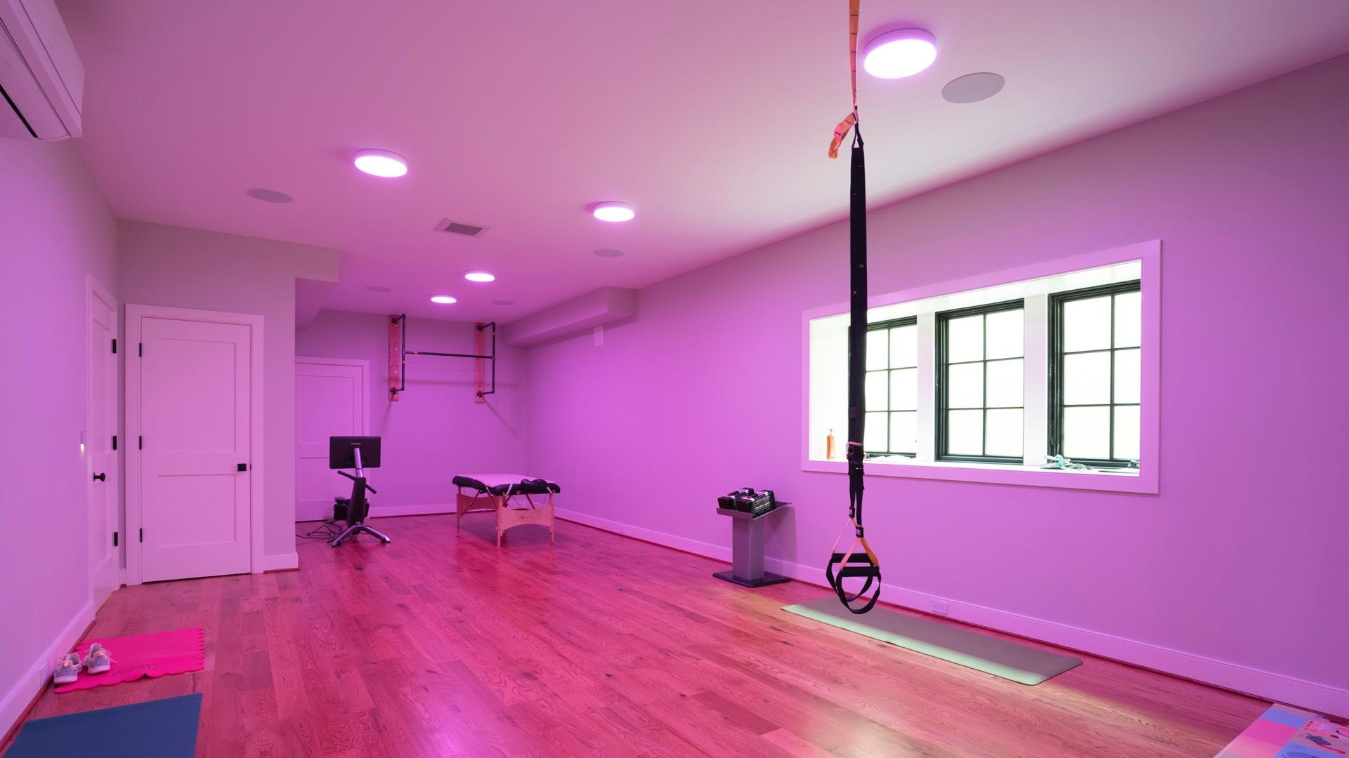 Celek Smart Home - Fitnessraum