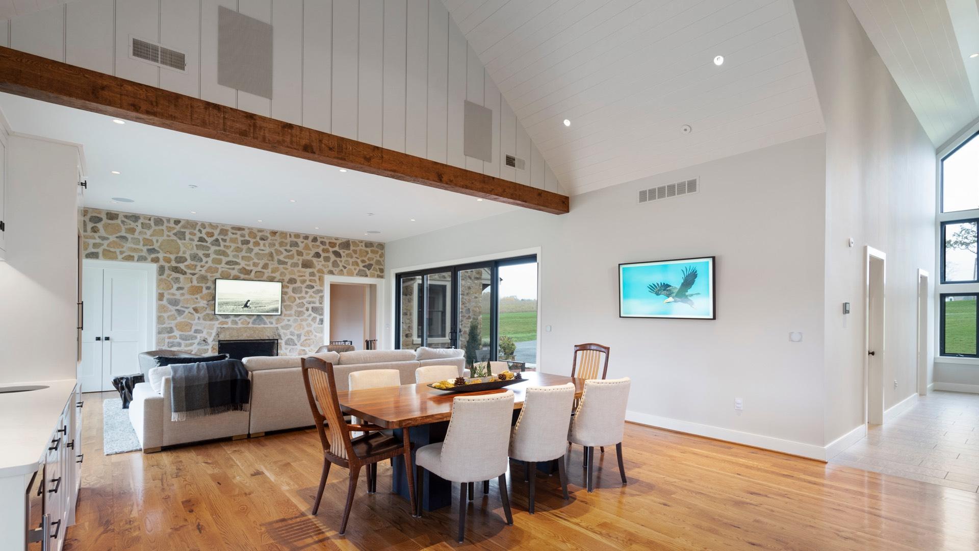 Celek Smart Home - Wohnzimmer