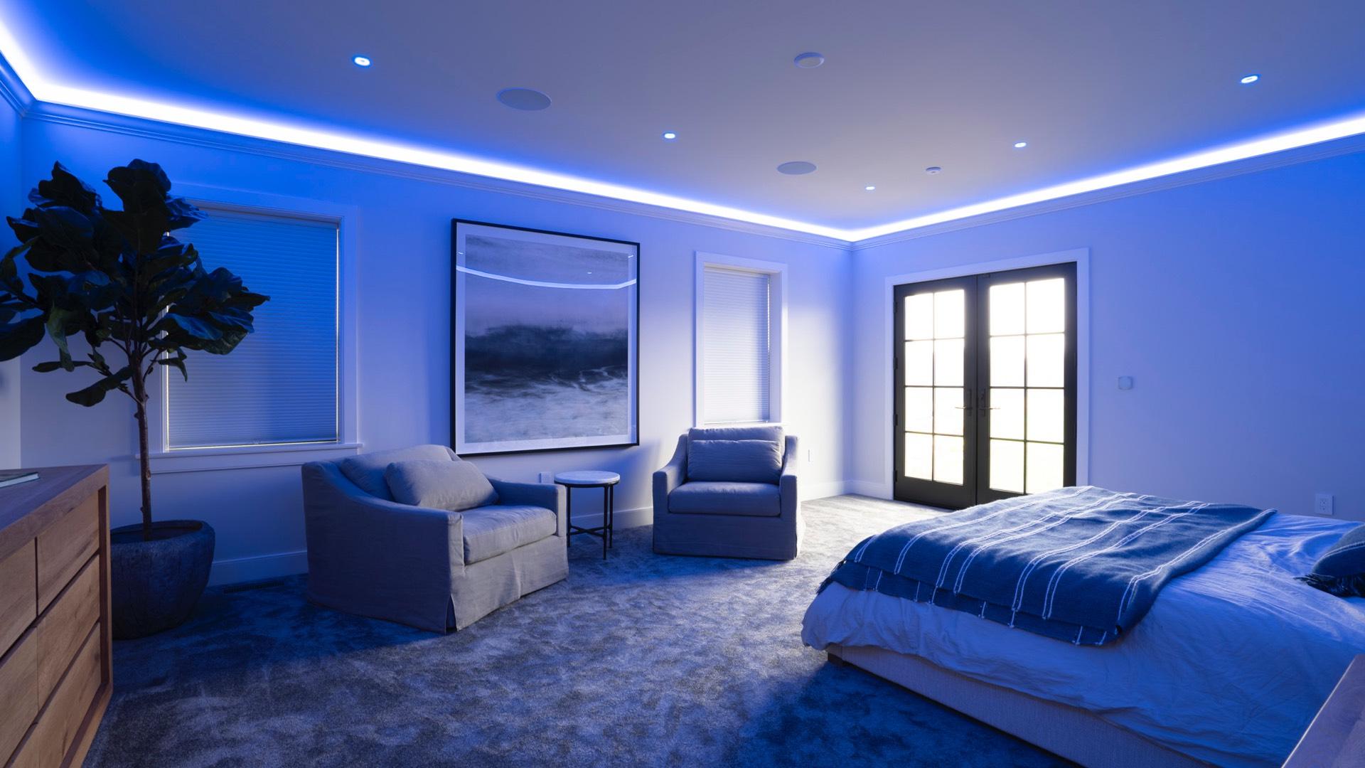 Celek Smart Home - Schlafzimmer