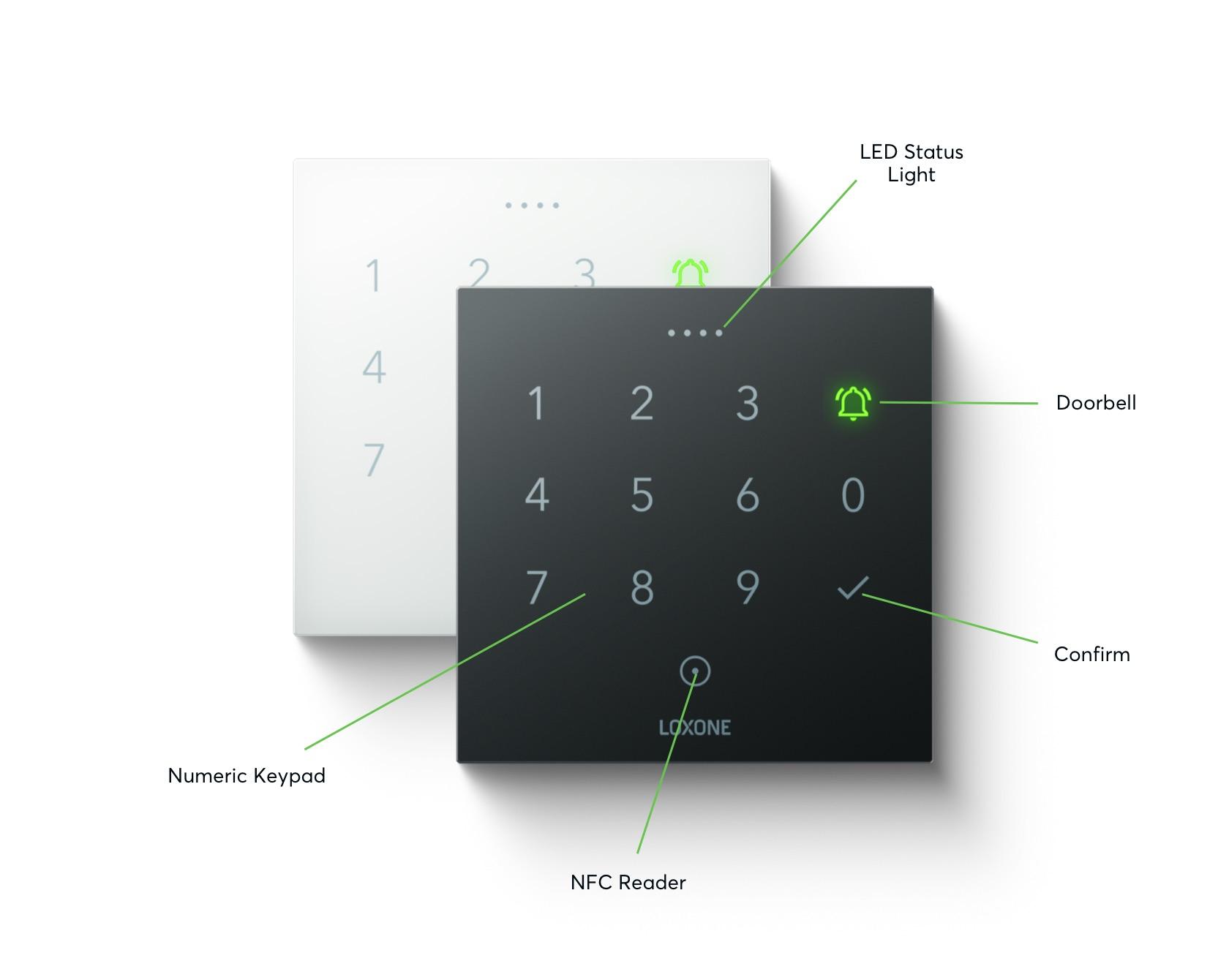 NFC Code Touch Properties