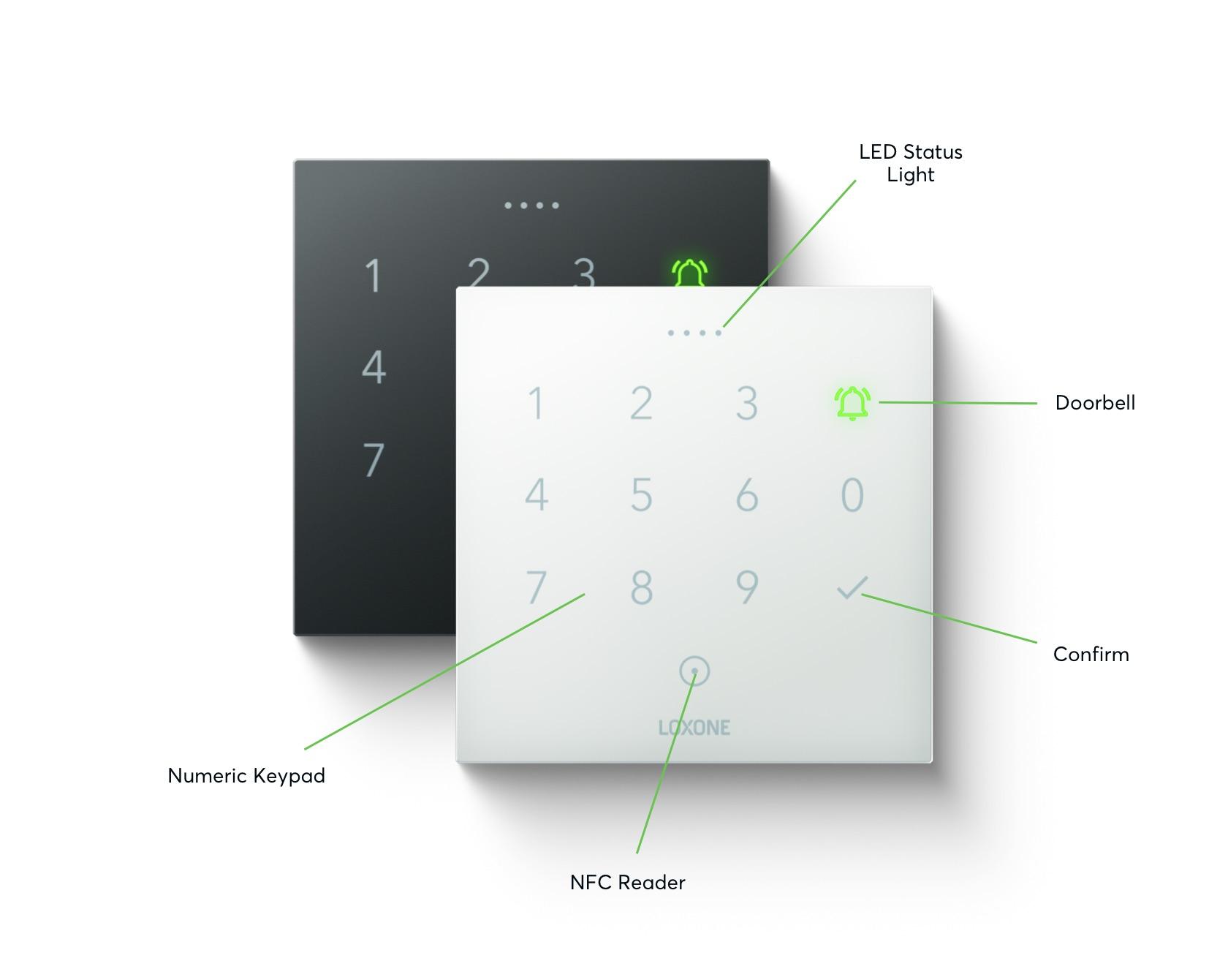 NFC Code Touch vlastnosti