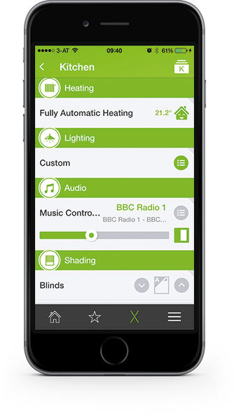 the new loxone smart home app is here. Black Bedroom Furniture Sets. Home Design Ideas