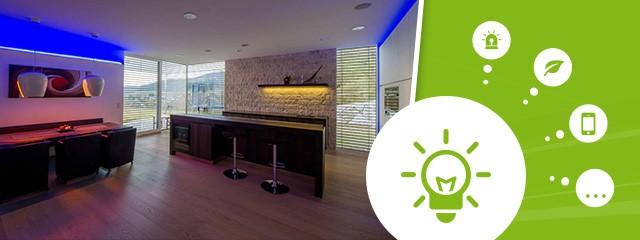 your 2015 smart home loxone efficient lighting. Black Bedroom Furniture Sets. Home Design Ideas