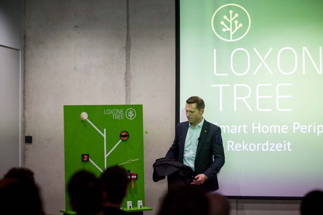 Martin Oller reveals Loxone Tree