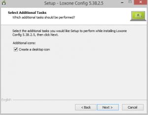 Setup Select Desktop Icon