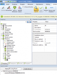 Adding an IR Module in Config