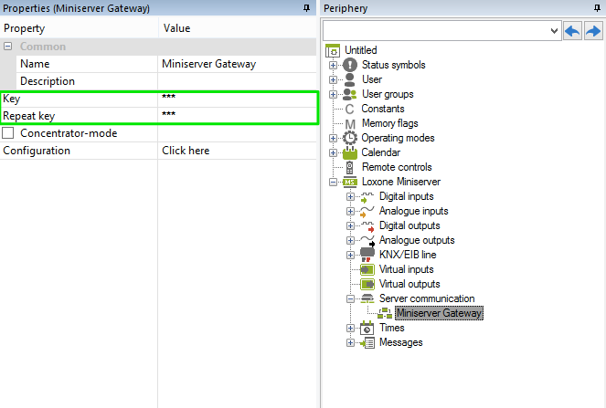 Creating A Client Gateway In Loxone Config 2