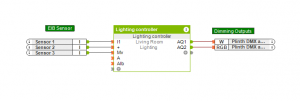 Loxone and EIB Sensors for Lighting