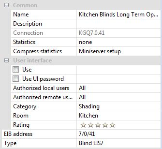 Example Screenshot Of Loxone Config EIS7 Properties Panel