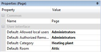 Assigning User Groups To A Page In Loxone Config