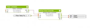 Mixing Valve Controller Configuration