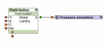 Example Config Loxone Presence Simulation Activation Button