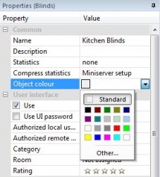 Properties Block Colour