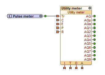 Example Loxone Config Utility Meter Function Block
