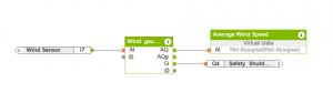 Wind Gauge Loxone Config