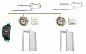 Diagram 1-Wire Access Control