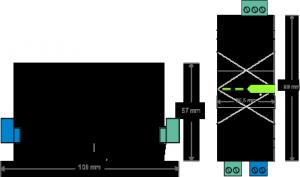 Modbus Extension Dimensions
