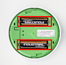 Loxone Motion sensor Air Battery Change.