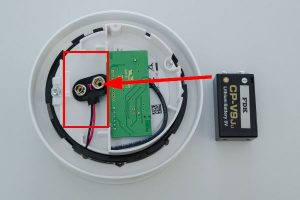 Loxone Smoke Detector Air Battery Change.