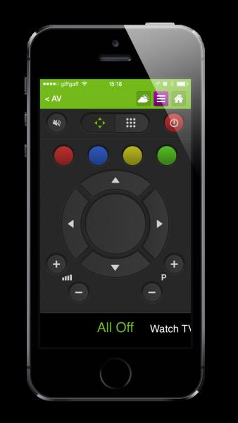 Loxone App Media Controller Example