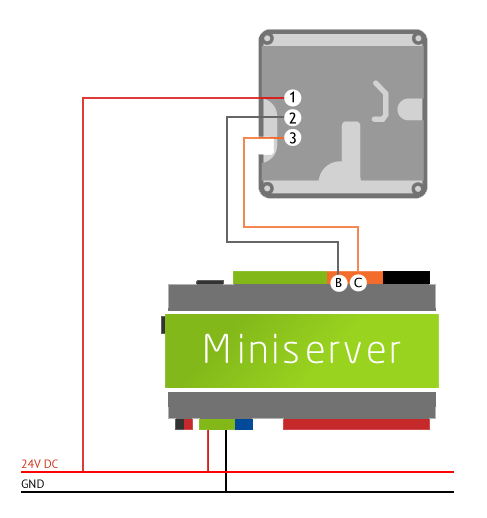 Example On How To Wire Temperature Sensors Into The Loxone Miniserver