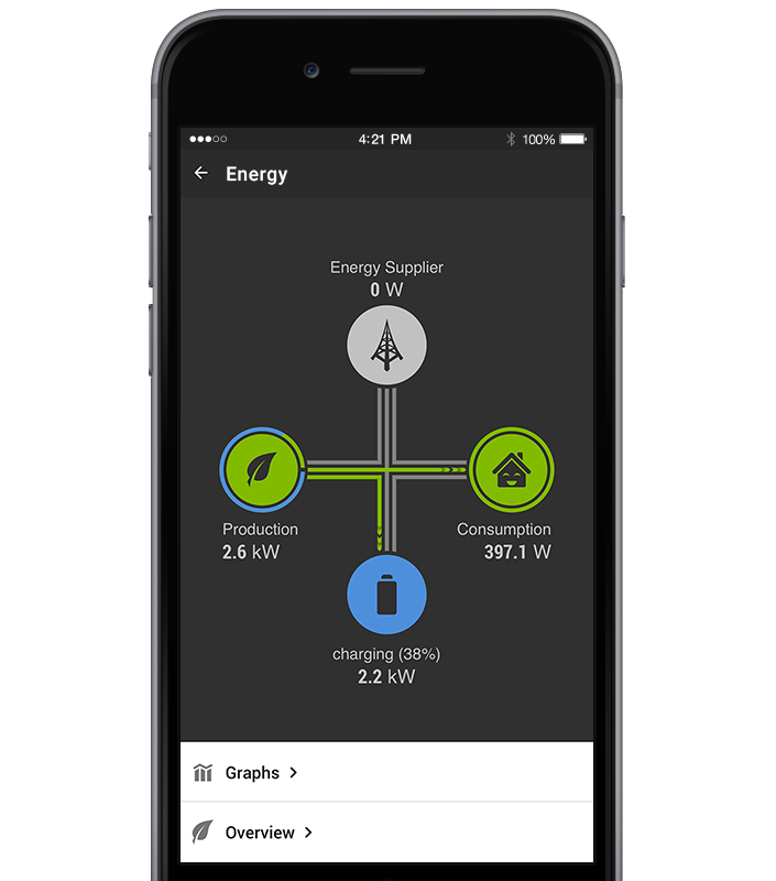 Energy Management Loxone App