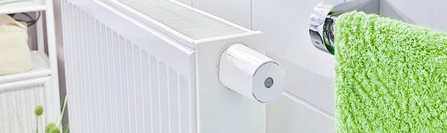 loxone smart home valve actuator bathroom
